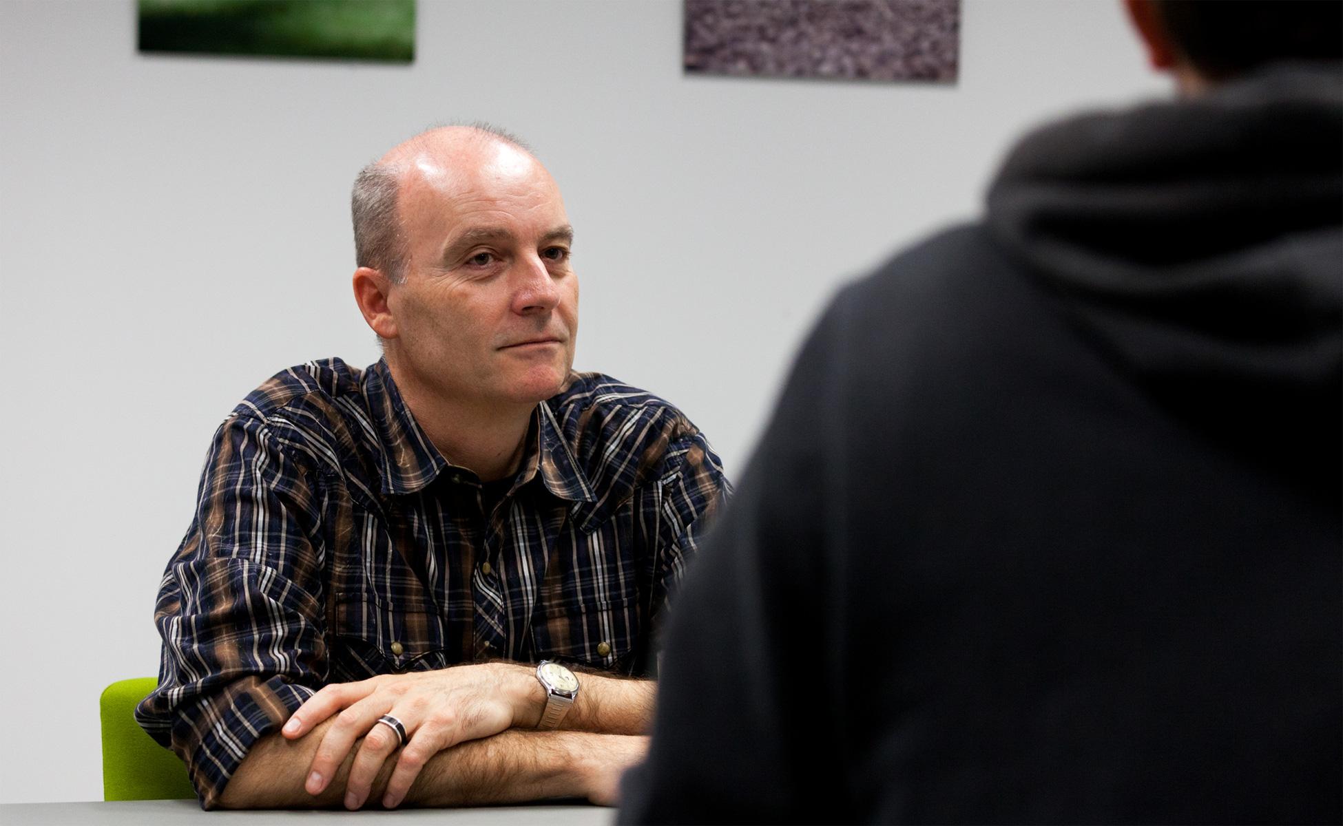 Daniel Faessler im Dialog